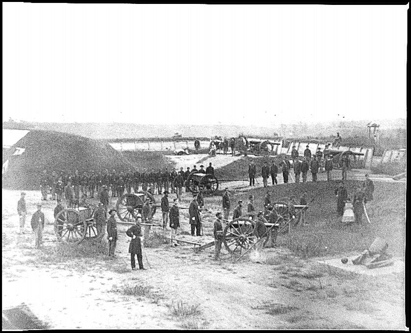August 1865 Co M Outside DC.